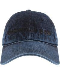 Calvin Klein Jeans Denim Logo Cap - Blue