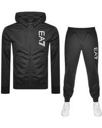 ea7 tracksuit hoodie
