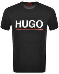 HUGO Dolivio T Shirt - Black