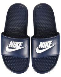 Nike Benassi Jdi Slide Slide Shoes - White