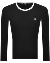 Balmain Ringer Ls T Shirt - Black