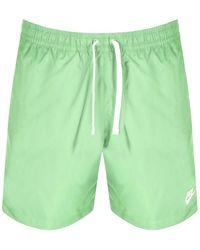 Nike Flow Logo Swim Shorts - Green