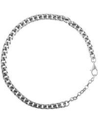 Serge Denimes Scale Bracelet - Metallic