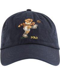 Ralph Lauren Polo Bear Classic Baseball Cap - Blue