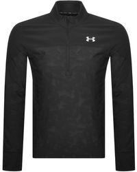 Under Armour Half Zip Qualifier Stealth Sweatshirt - Black