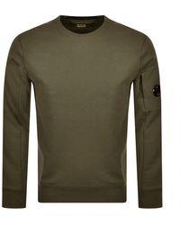 C.P. Company Cp Company Crew Neck Sweatshirt - Green
