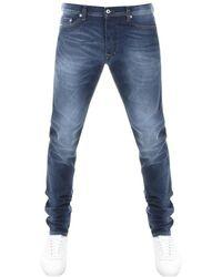 DIESEL - Tepphar 0853r Jeans Blue - Lyst