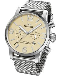 TW Steel Maverick Mb3 Watch - Metallic