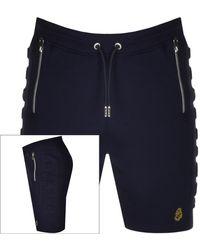 Luke 1977 Retriever Logo Shorts - Blue