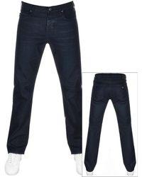 Armani Emporio J21 Regular Fit Jeans - Blue