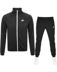 Nike Standard Fit Tracksuit - Black