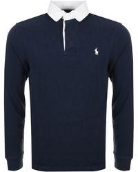 Ralph Lauren - Rugby Polo T Shirt Navy - Lyst