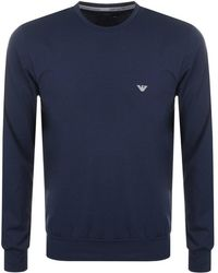 Armani - Emporio Lightweight Lounge Tracksuit Navy - Lyst