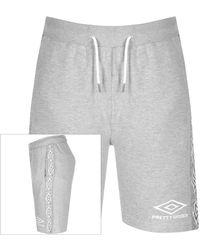 Pretty Green X Umbro Sweat Shorts - Grey