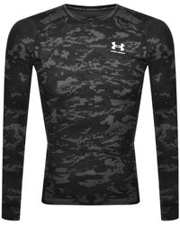Under Armour Compression Long Sleeve T Shirt - Grey
