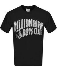 BBCICECREAM Billionaire Boys Glitter Clubt Shirt Silver - Black