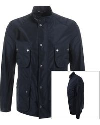 Barbour Casual Jacket Navy