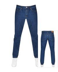 Farah Elm Stretch Jeans - Blue