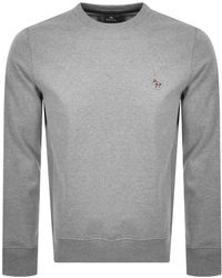 Paul Smith Ps By Crew Neck Sweatshirt - Grey