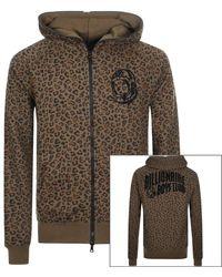 BBCICECREAM Leopard Print Hoodie - Brown