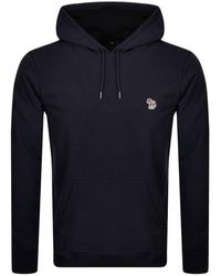 Paul Smith Ps By Pullover Hoodie - Blue