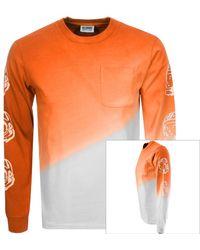 BBCICECREAM Bleach T Shirt - Orange
