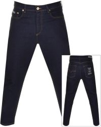 cf5593ab Couture Cropped Jeans Blue