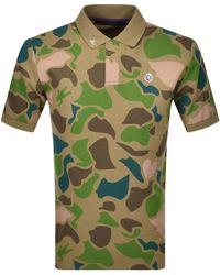 BBCICECREAM Short Sleeved Polo - Green
