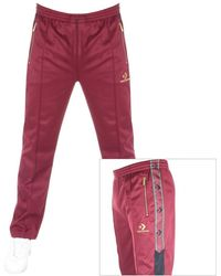 Converse Luxe Chevron Track Pants Red