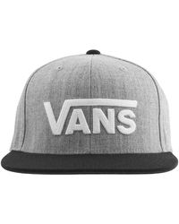 Vans Vii Snapback Baseball Cap - Gray