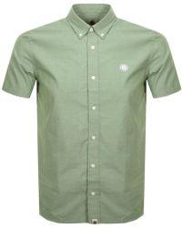 Pretty Green - Classic Fit Short Sleeve Oxford Shirt - Lyst