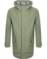 Farah Erskine Hooded Jacket - Green