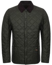 Barbour - Liddesdale Heritage Quilted Jacket Green - Lyst