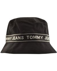 c38c5e8a Tommy Hilfiger Tape Bucket Hat - Online Exclusive for Men - Lyst
