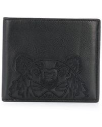 KENZO Tiger-motif Wallet - Black