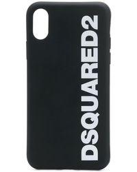 DSquared² Logo Iphone 11 Pro Phone Case Black