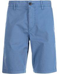 BOSS by HUGO BOSS Boss Slim Chino Shorts - Blue