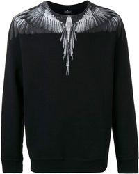 Marcelo Burlon - County Of Milan Wings Print Sweatshirt - Lyst