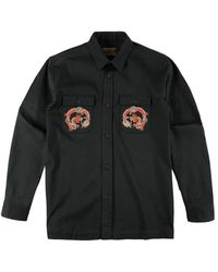 Maharishi Souvenir Mil Shirt Black