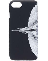 Marcelo Burlon Wings-print Iphone Se Case - Black
