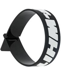 Off-White c/o Virgil Abloh Off-white Industrial Rubber Wristband - Black