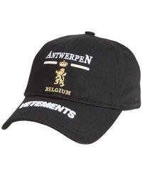 Vetements Antwerp Logo Cap Black