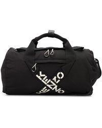 KENZO Sport Duffle Weekender Bag - Black