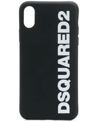 DSquared² Logo Phone Case - Black