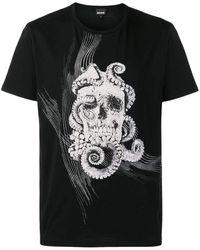 Cavalli Skull T-shirt - Black