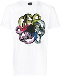 Cavalli Snake T-shirt - Multicolour