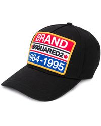 DSquared² Embroidered Baseball Cap - Black