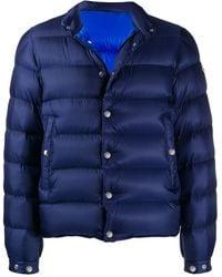 Moncler Shell Puffer Jacket - Blue