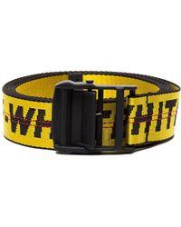 "Off-White c/o Virgil Abloh ""industrial"" Belt - Yellow"