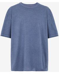 Maison Margiela オーバーサイズ Tシャツ - ブルー